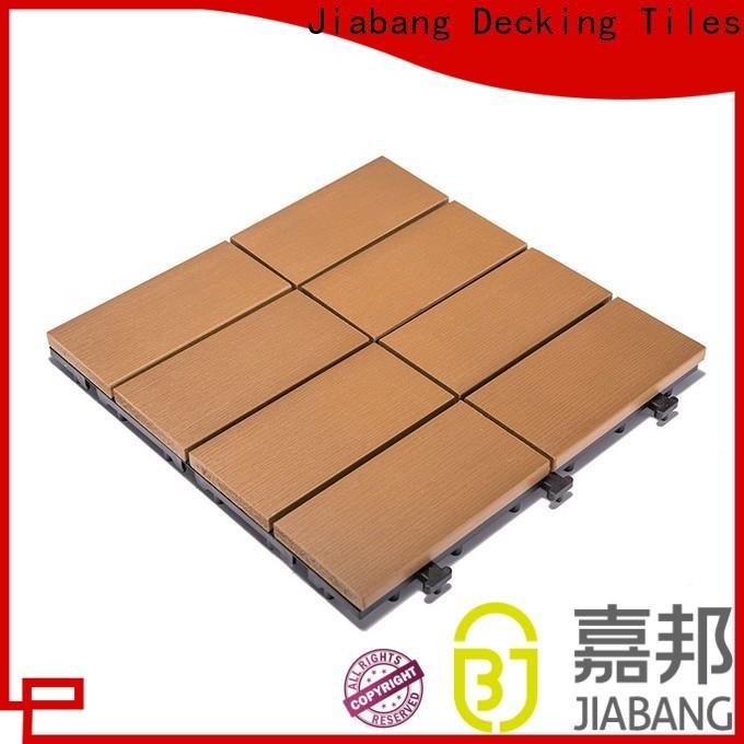 durable outdoor plastic deck tiles pvc high-quality gazebo decoration