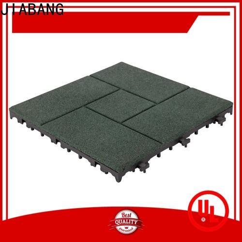 JIABANG playground rubber gym flooring tiles light weight house decoration