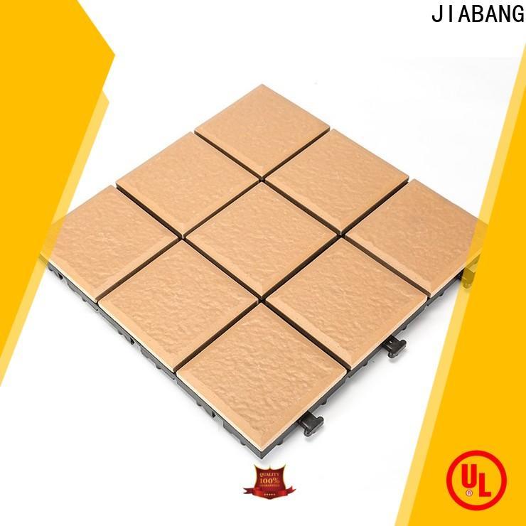 JIABANG exhibition ceramic patio tiles free delivery gazebo construction
