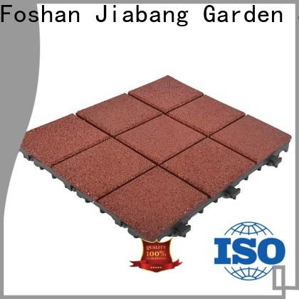 JIABANG hot-sale interlocking rubber tiles for gym low-cost for wholesale