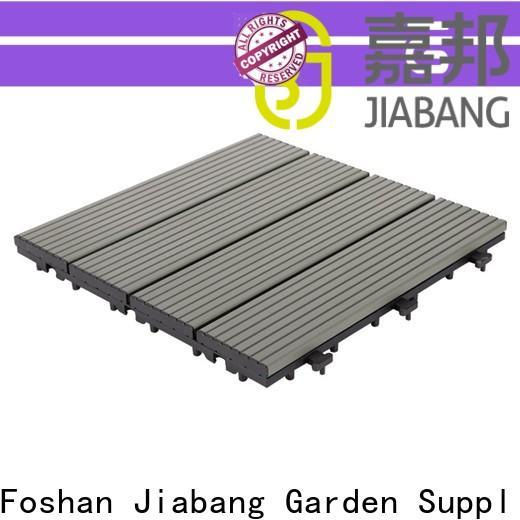 JIABANG low-cost garden decking tiles light-weight for customization
