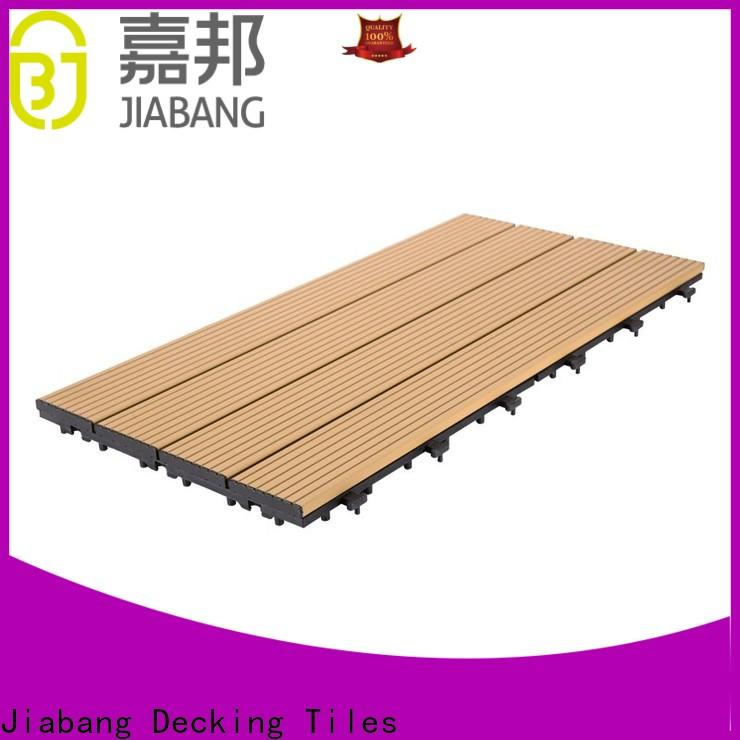 JIABANG low-cost interlocking deck and patio tiles popular at discount