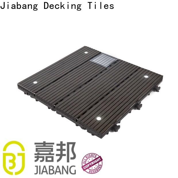 high-quality square decking tiles eco-friendly ground