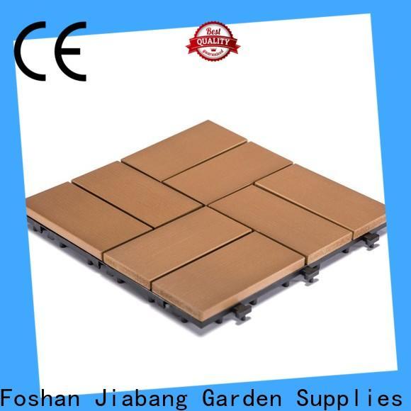JIABANG outdoor plastic deck tiles anti-siding home decoration