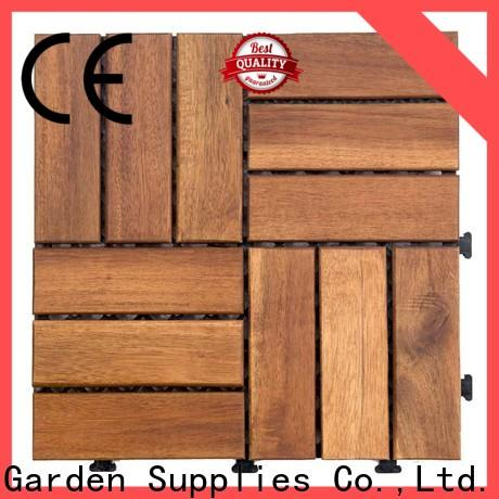 acacia wood outdoor flooring outdoor cheapest factory price at discount