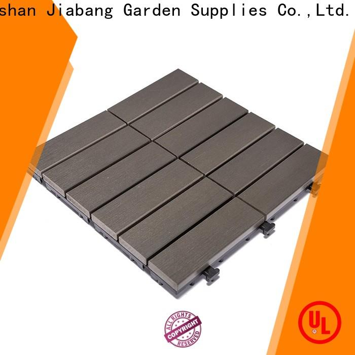 JIABANG hot-sale plastic decking manufacturers popular garden path