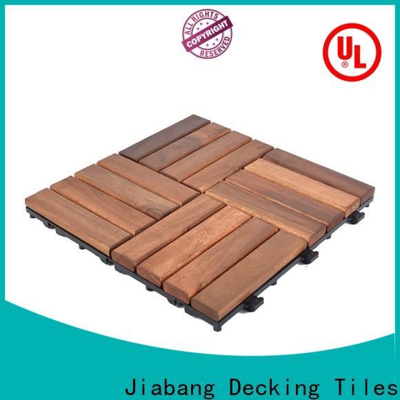 acacia wood patio tiles easy installation
