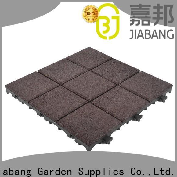 JIABANG composite gym floor tiles interlocking light weight house decoration