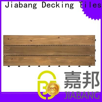 JIABANG interlocking garden wooden decking tiles wooddeck wooden floor