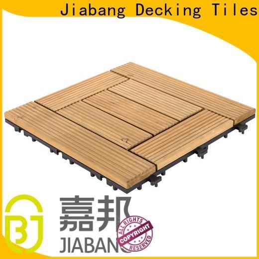 JIABANG interlocking hardwood deck tiles flooringwood wooden floor