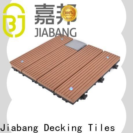 durable solar patio tiles wpc protective home