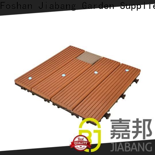 JIABANG durable balcony deck tiles garden lamp