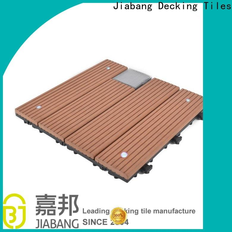 JIABANG wpc outdoor composite deck tiles home
