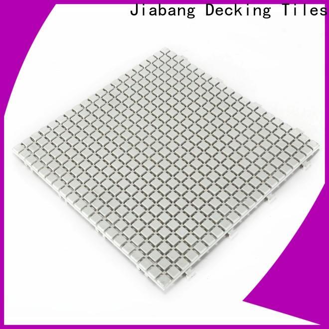 JIABANG outdoor plastic deck tiles kitchen flooring