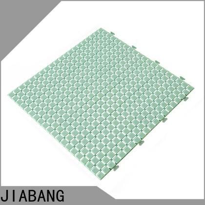 protective plastic interlocking outdoor tiles anti-sliding non-slip