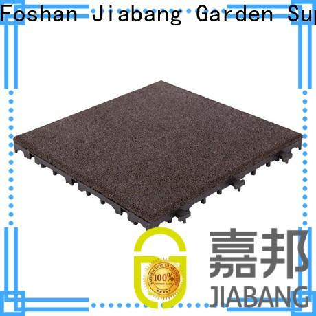 JIABANG playground rubber gym mat tiles light weight at discount
