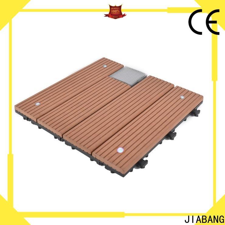 hot-sale solar patio tiles wpc protective garden lamp