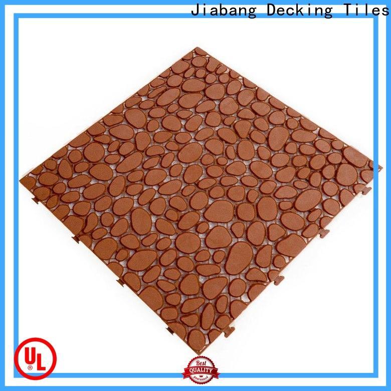 JIABANG decorative plastic garden tiles high-quality