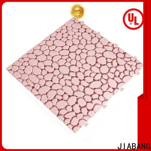 JIABANG interlocking plastic garden tiles non-slip for wholesale