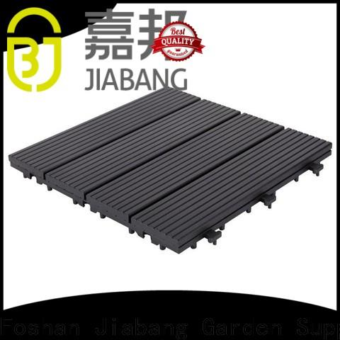 JIABANG cheapest factory price interlocking deck and patio tiles popular for customization