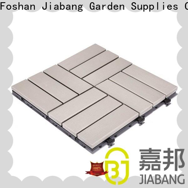 JIABANG wholesale plastic patio tiles popular home decoration
