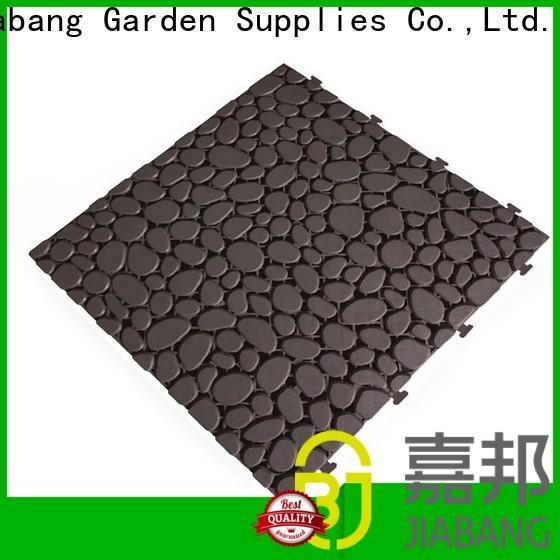 JIABANG bathroom floor outdoor plastic tiles top-selling for customization