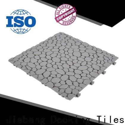 protective plastic interlocking deck tiles flooring non-slip for wholesale