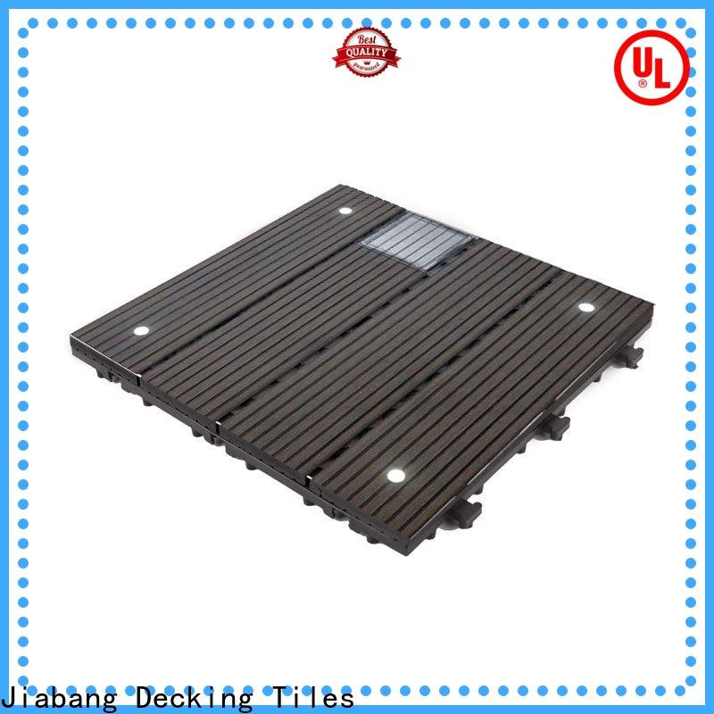 high-quality modular decking panels led protective ground