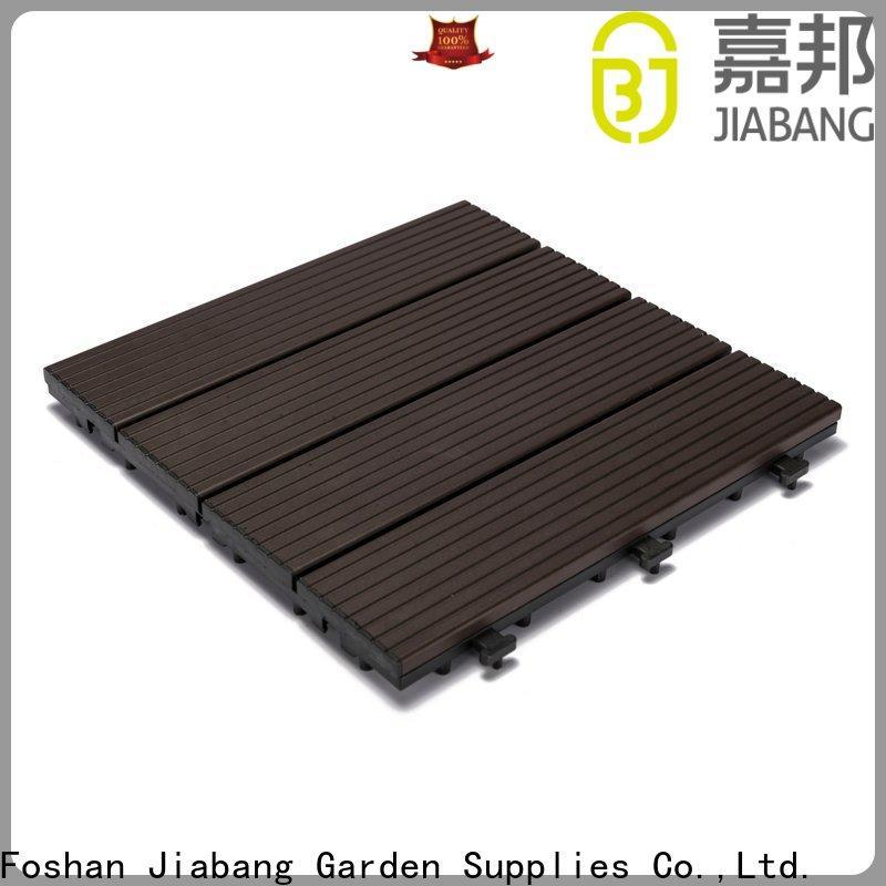 JIABANG cheapest factory price garden decking tiles universal at discount