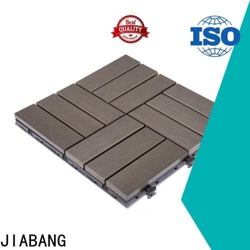JIABANG pvc deck tiles high-quality home decoration