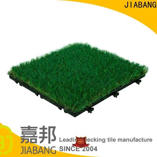 JIABANG professional grass carpet tiles at discount path building
