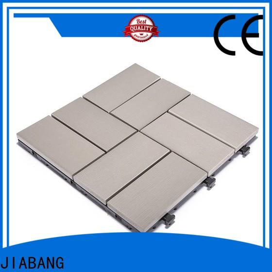 JIABANG durable plastic interlocking deck tiles high-quality home decoration