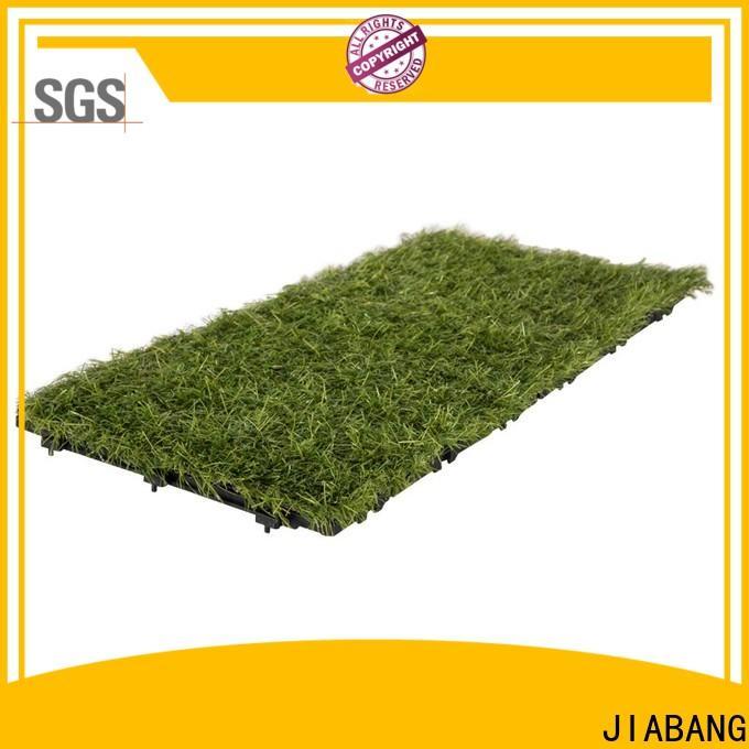 JIABANG landscape grass tiles artificial grass garden decoration
