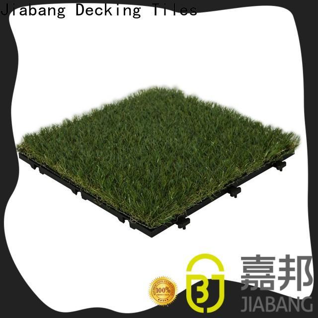 professional grass floor tiles landscape balcony construction