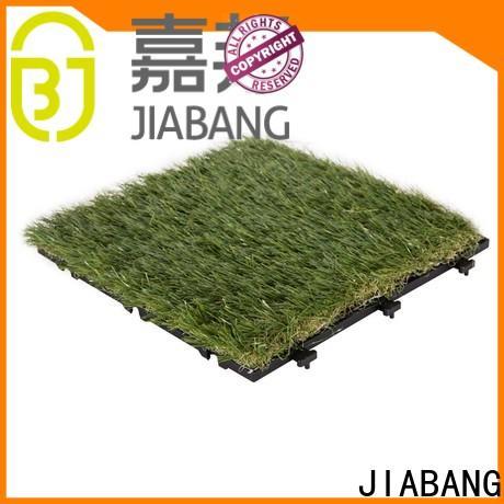 outdoor wood tiles on grass easy installation for garden