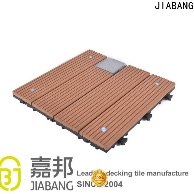 JIABANG hot-sale interlocking outdoor patio tiles protective ground