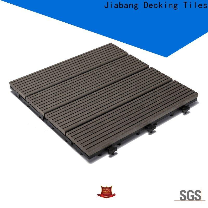 JIABANG frost resistant composite patio tiles at discount top brand
