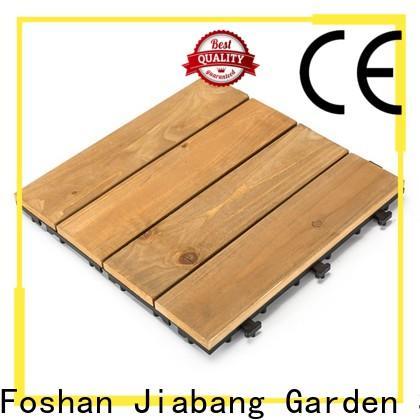 interlocking interlocking wood deck tiles diy wood flooring for garden