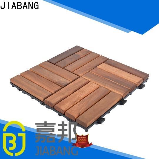 JIABANG outdoor acacia tile flooring low-cost at discount