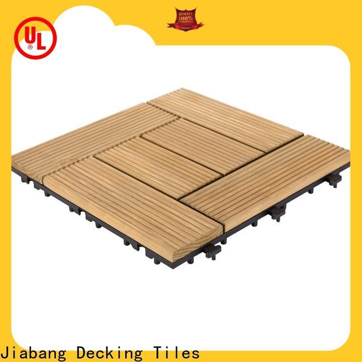 interlocking modular wood decking outdoor flooringwood for balcony
