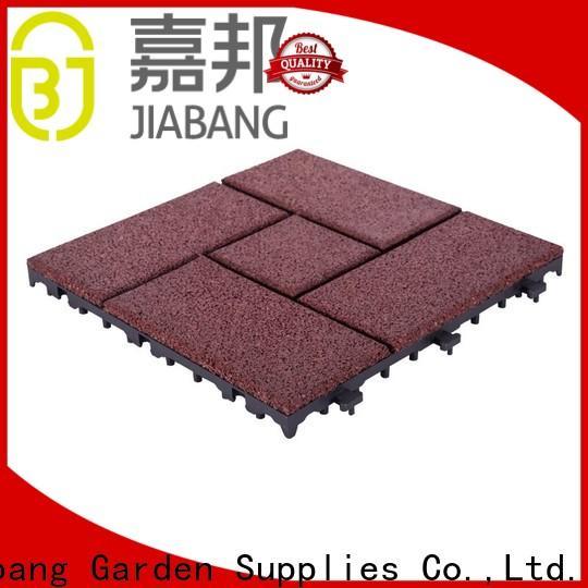JIABANG hot-sale interlocking rubber mats low-cost at discount