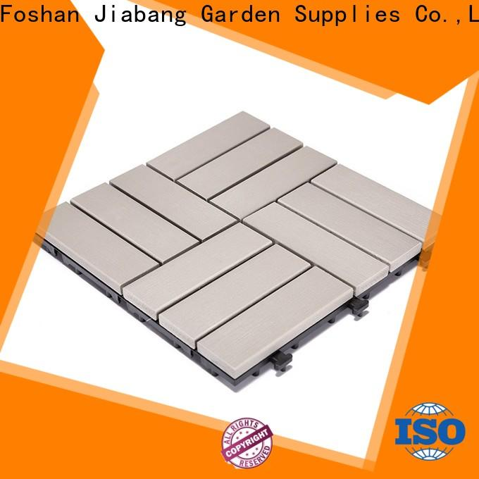 JIABANG high-end plastic patio flooring tile popular home decoration