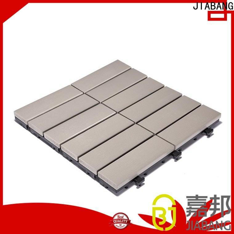 JIABANG hot-sale outdoor plastic deck tiles anti-siding home decoration