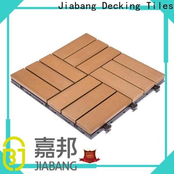 JIABANG high-end plastic decking manufacturers high-quality home decoration