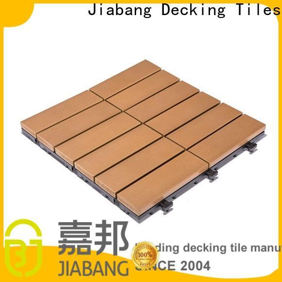 JIABANG hot-sale outdoor plastic tiles popular gazebo decoration
