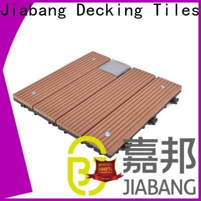 JIABANG led modular decking panels highly-rated ground