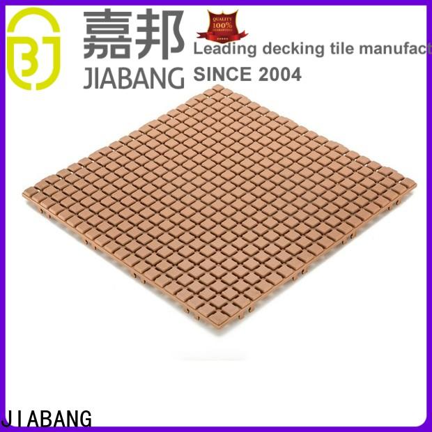 JIABANG protective wood plastic composite tiles top-selling for wholesale