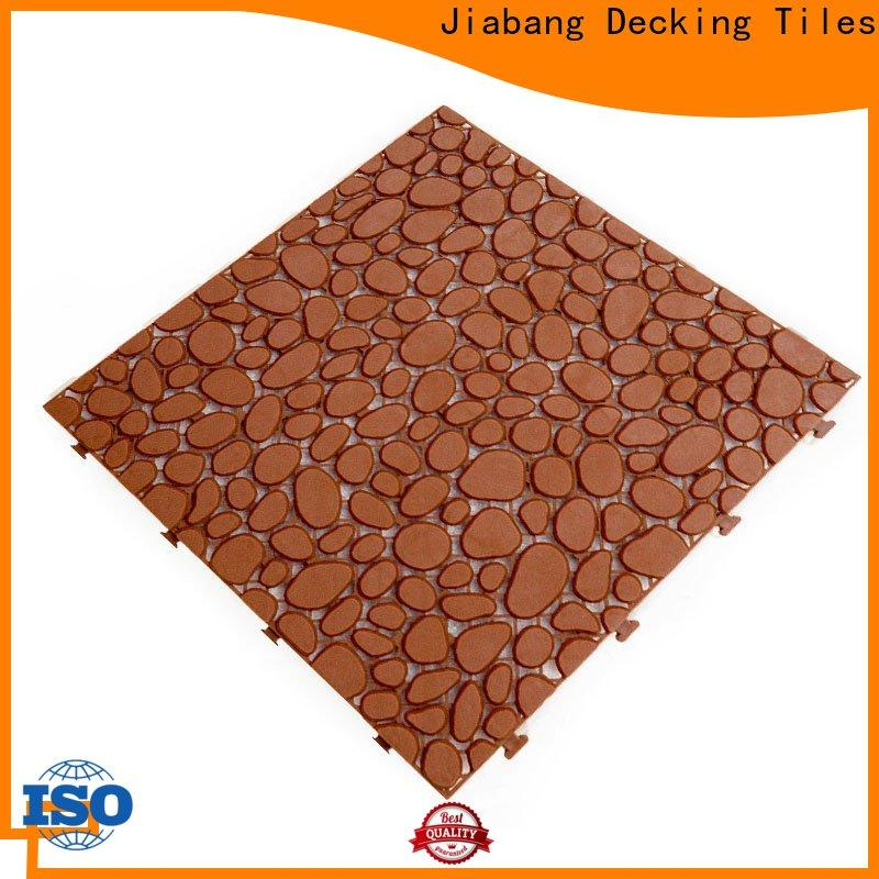 decorative plastic floor tiles outdoor plastic mat non-slip for wholesale