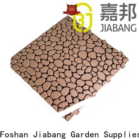 JIABANG plastic interlocking outdoor tiles high-quality for customization