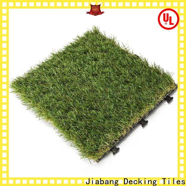 JIABANG outdoor wood tiles on grass hot-sale for customization
